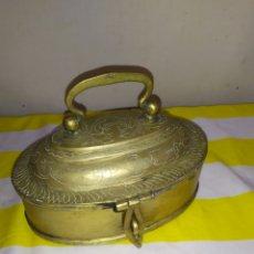 Antigüedades: ANTIGUO Y RARO COFRE POSIBLEMENTE EGIPCIO SIGLO XVIII. Lote 194685951