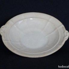 Antigüedades: FRUTERO O BASE DE LEGUMBRERA BLANCA. . Lote 194688151