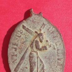 Antigüedades: ANTIGUA MEDALLA NUESTRO PADRE JESÚS DEL CALVARIO, CÓRDOBA. Lote 194697773