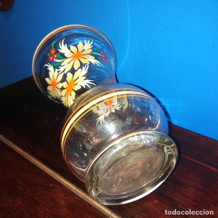 Antigüedades: Antiguo Jarrón de cristal de la Granja - Foto 2 - 194701940