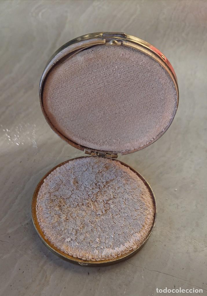 Antigüedades: Antigua polvera - Foto 3 - 194704913