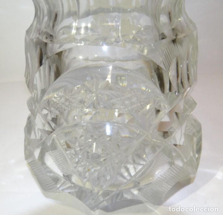 Antigüedades: Azucarero de cristal de bohemia. - Foto 3 - 194710705