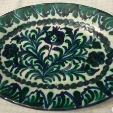 Antigüedades: BANDEJA DE GRANADA, 34X23,5 CM. Lote 194732633