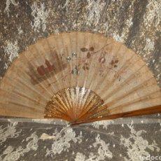 Antigüedades: ABANICO PERICÓN 1880-1900 APROX. Lote 194735430