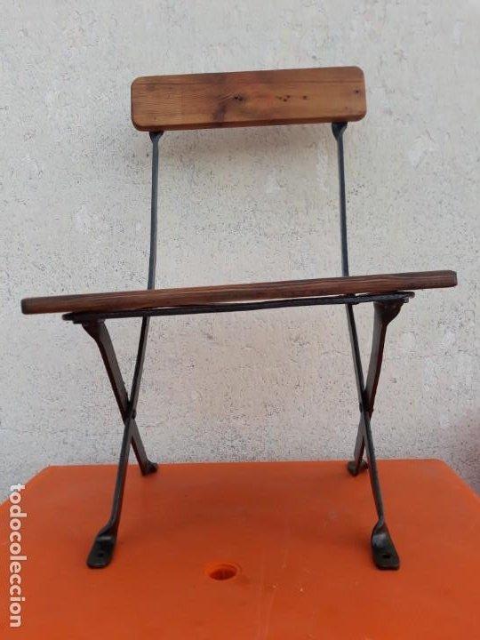 Antigüedades: Silla forja trillo ruedas - Foto 2 - 194735948