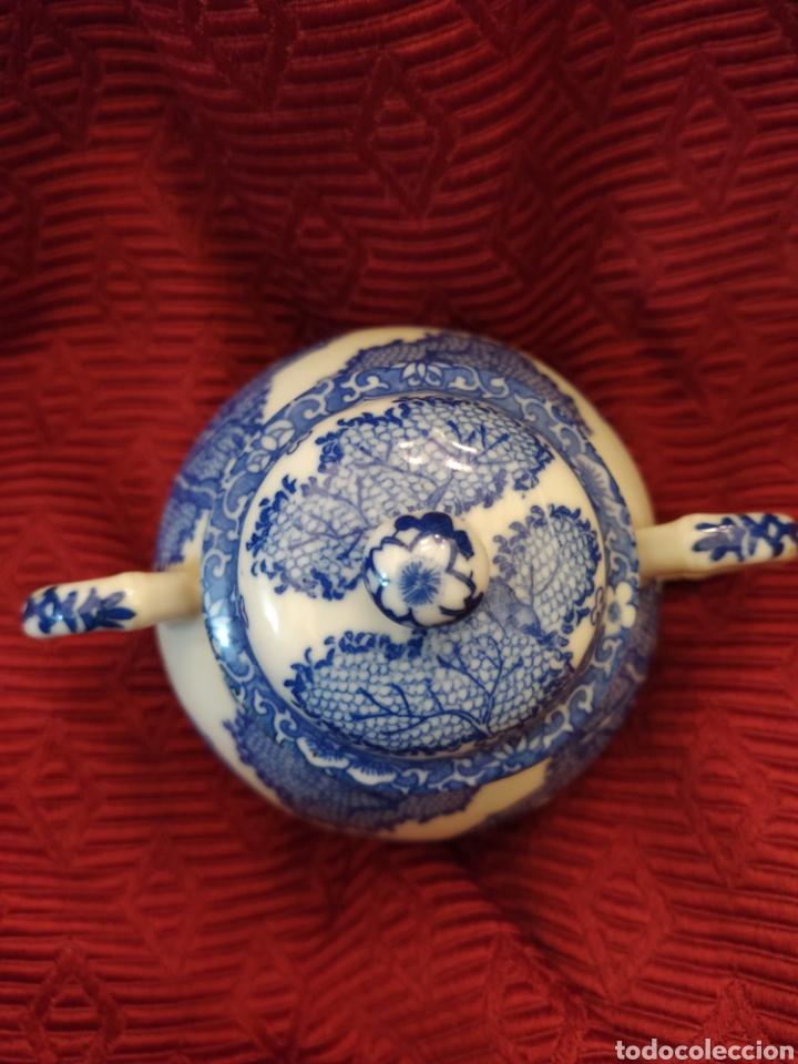 Antigüedades: Juego de tu y yo porcelana muy fina japonesa. - Foto 8 - 194739152