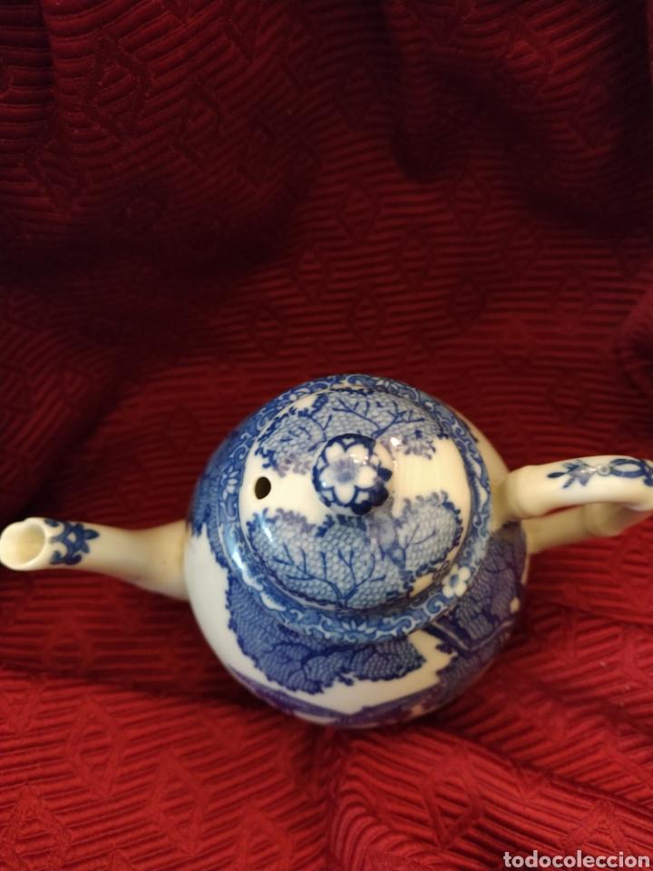 Antigüedades: Juego de tu y yo porcelana muy fina japonesa. - Foto 10 - 194739152