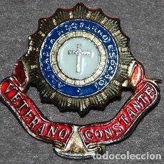 Antigüedades: INSIGNIA ORIGINAL ADORACION NOCTURNA ESPAÑOLA. Lote 194739313