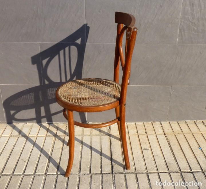 Antigüedades: Silla antigua tipo tonet. - Foto 6 - 194739746