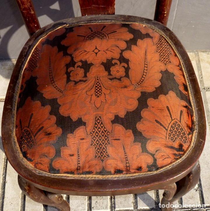 Antigüedades: Silla antigua tipo tonet. - Foto 2 - 194739842