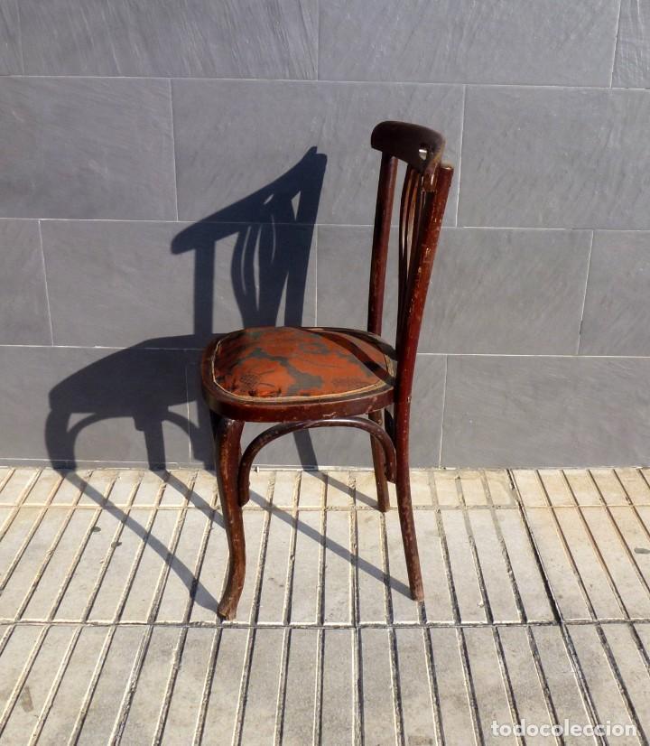 Antigüedades: Silla antigua tipo tonet. - Foto 4 - 194739842