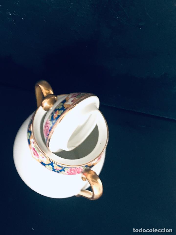 Antigüedades: AZUCARERO ANTIGUO GRANDE EN PORCELANA DE LIMOGES SELLADO LIMOGES - Foto 6 - 194747076