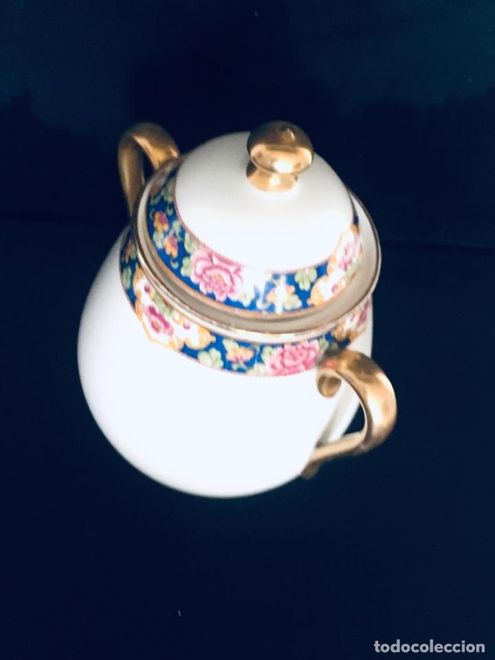 Antigüedades: AZUCARERO ANTIGUO GRANDE EN PORCELANA DE LIMOGES SELLADO LIMOGES - Foto 7 - 194747076
