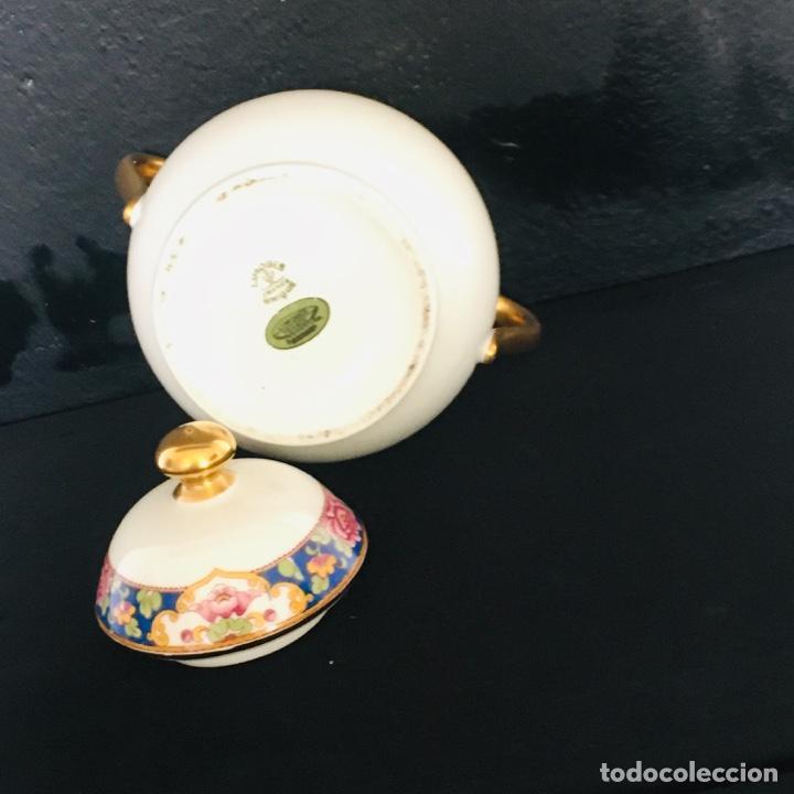 Antigüedades: AZUCARERO ANTIGUO GRANDE EN PORCELANA DE LIMOGES SELLADO LIMOGES - Foto 9 - 194747076