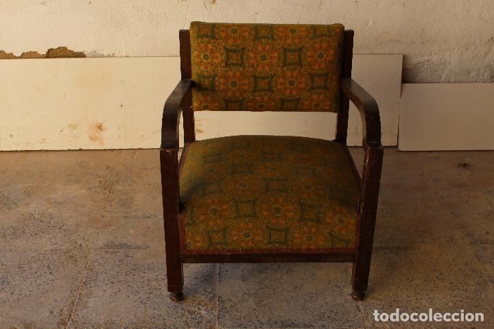 Antigüedades: sillon antiguo descalzador - Foto 3 - 194749190