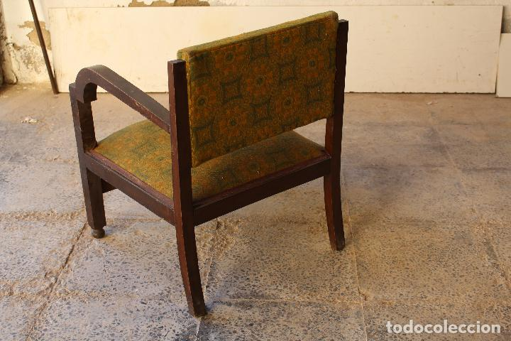 Antigüedades: sillon antiguo descalzador - Foto 4 - 194749190