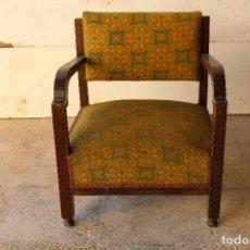 Antigüedades: SILLON ANTIGUO DESCALZADOR. Lote 194749190