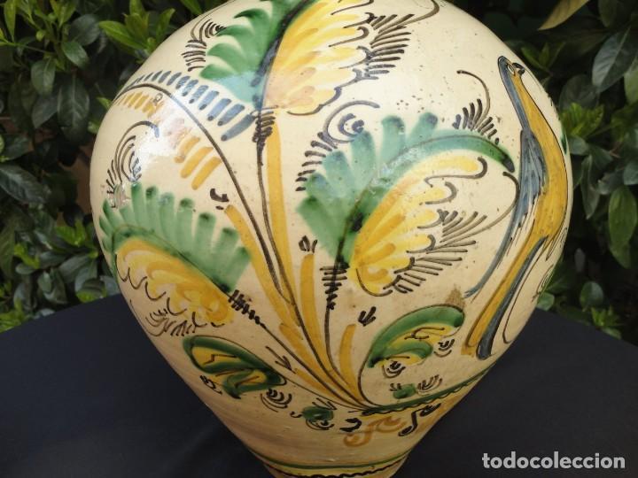 Antigüedades: Cerámica decorada Puente Arzobispo: Cántaro - Foto 5 - 194749610