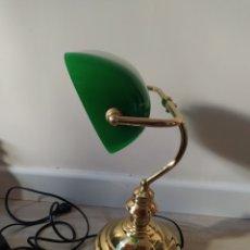 Antigüedades: ANTIGUA LAMPARA DE ESCRITORIO. Lote 194751582