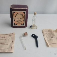 Antigüedades: NEBULIZADOR . EN SU CAJA ORIGINAL. Lote 194751880