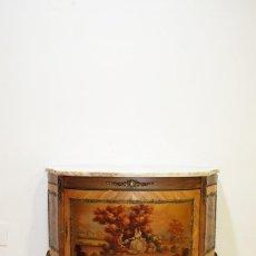 Antigüedades: CÓMODA LUIS XV ESCENAS ROMÁNTICAS. Lote 194754025