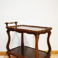 Antigüedades: CARRO LICORERA CAMARERA MUEBLE BAR. Lote 194756850