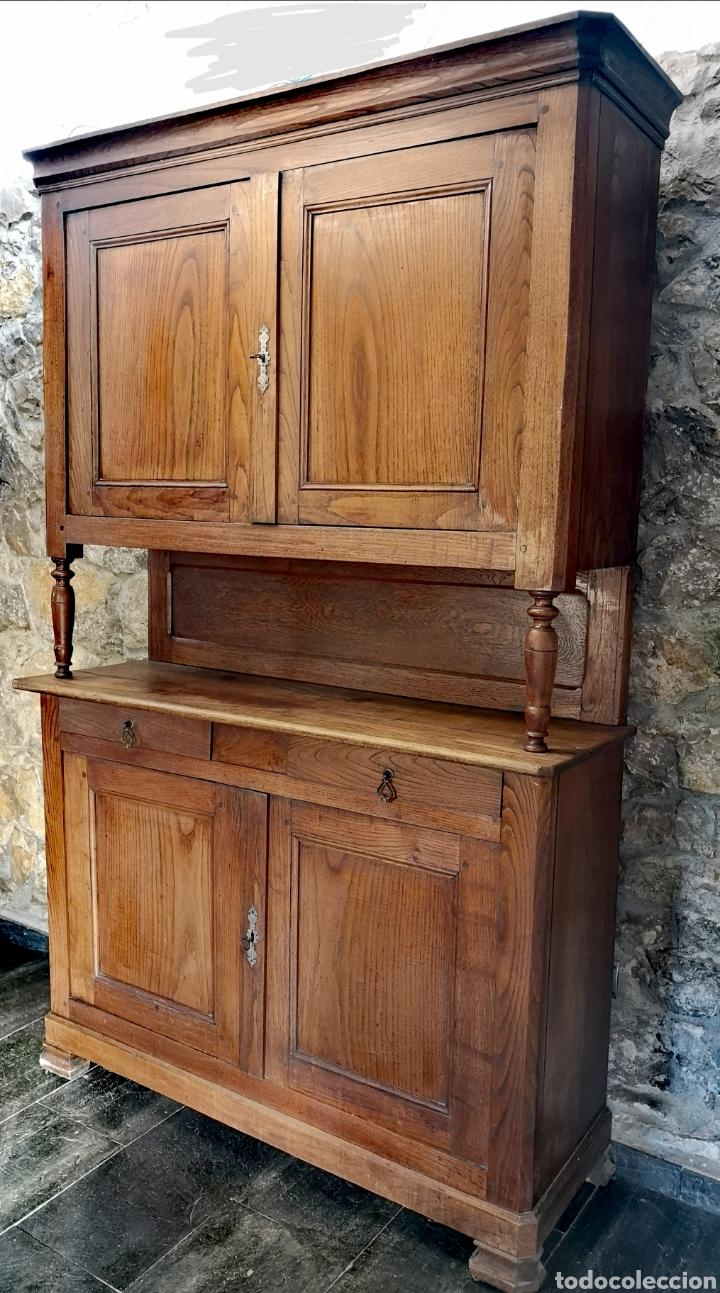Antigüedades: Alacena francesa de roble - Foto 2 - 194757708