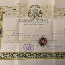 Antigüedades: RELIQUIA RELICARIO RELIC RELIQUARY SAN PIO X PAPA. Lote 194759108