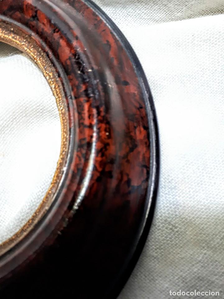 Antigüedades: Antiguo marco para miniatura - Foto 2 - 194763255