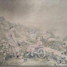 Antigüedades: ANTIGUO TAPIZ RIDGWAY KINGHT. Lote 194764298