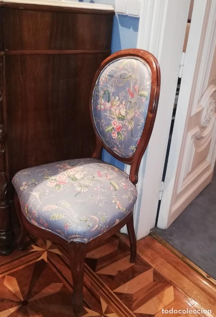 Antigüedades: Muebles de salón isabelinos, siglo XIX - Foto 2 - 194766508