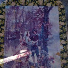 Antigüedades: ANTIGUA CAJA DE GRAN TAMAÑO DE CARTON SOBRINO DE GUINEA. Lote 194767005