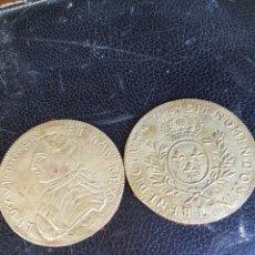 Antigüedades: MEDALLONES ANTIGUOS DE BRONCE LUIS XVI. Lote 194768000
