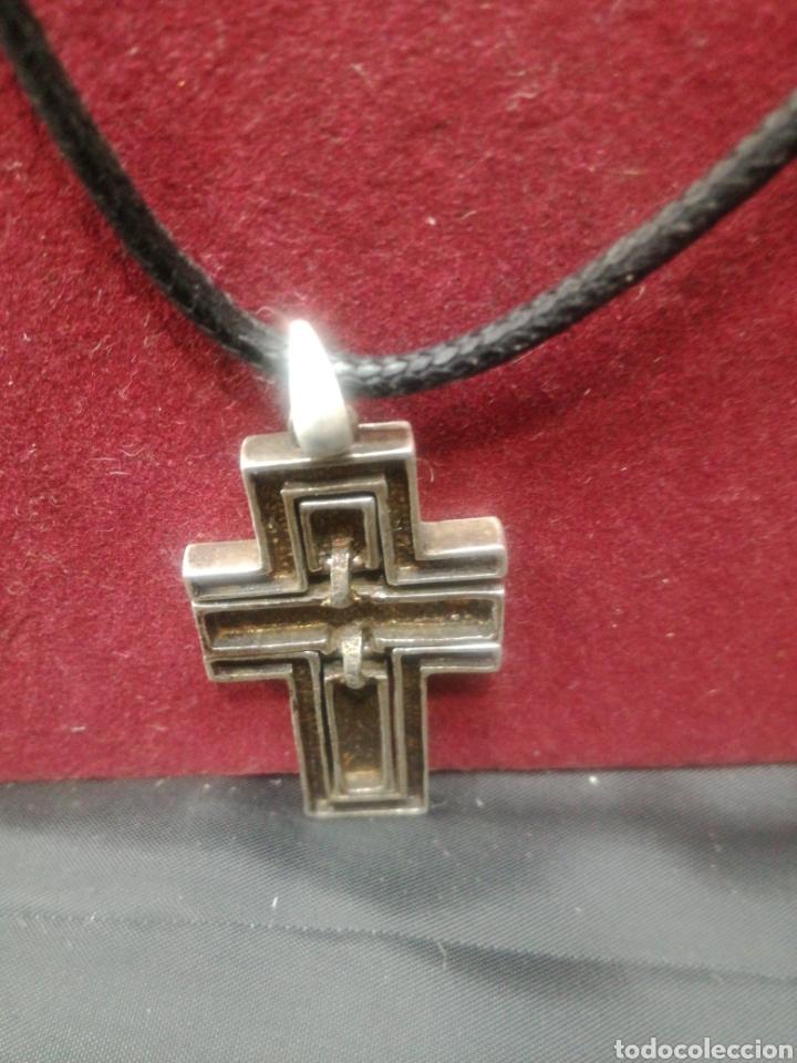 Antigüedades: Original cruz de plata movible - Foto 2 - 194768521