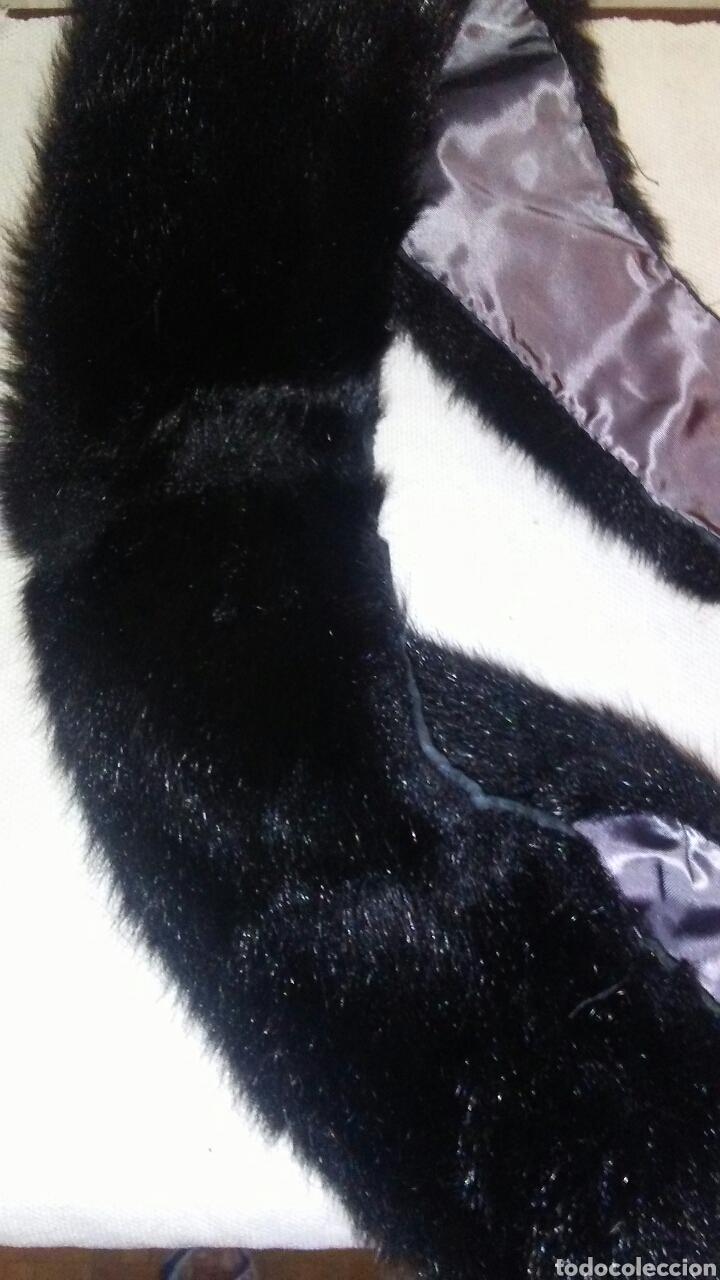 Antigüedades: Lote de 4 cuellos de piel para abrigo (ver fotos y leer descripcion ). - Foto 6 - 194777485