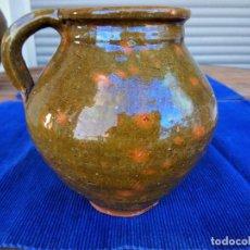 Antigüedades: PUCHERO DE LA ZONA DE TERUEL (¿ALCORISA?). Lote 194778882
