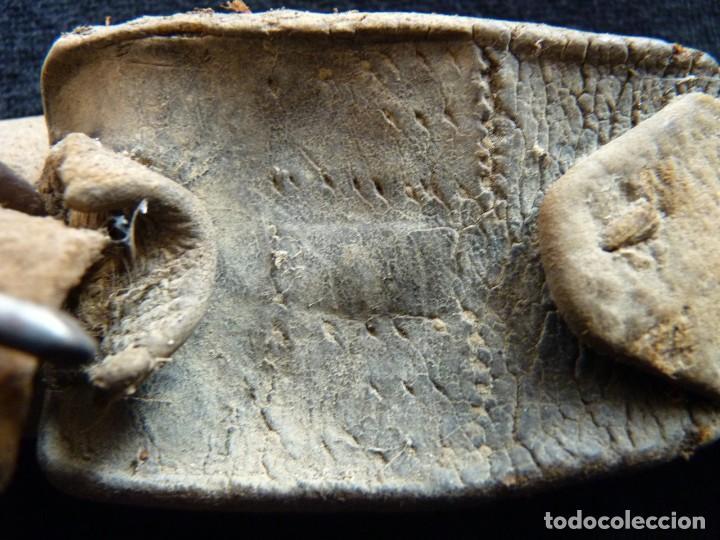 Antigüedades: ANTIGUO CENCERRO CON COLLAR. VALENCIA. 10,5 cm. (9) - Foto 8 - 194779356