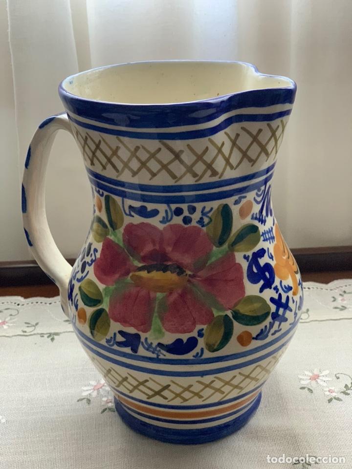 Antigüedades: Jarra cerámica de Manises. - Foto 2 - 194785478