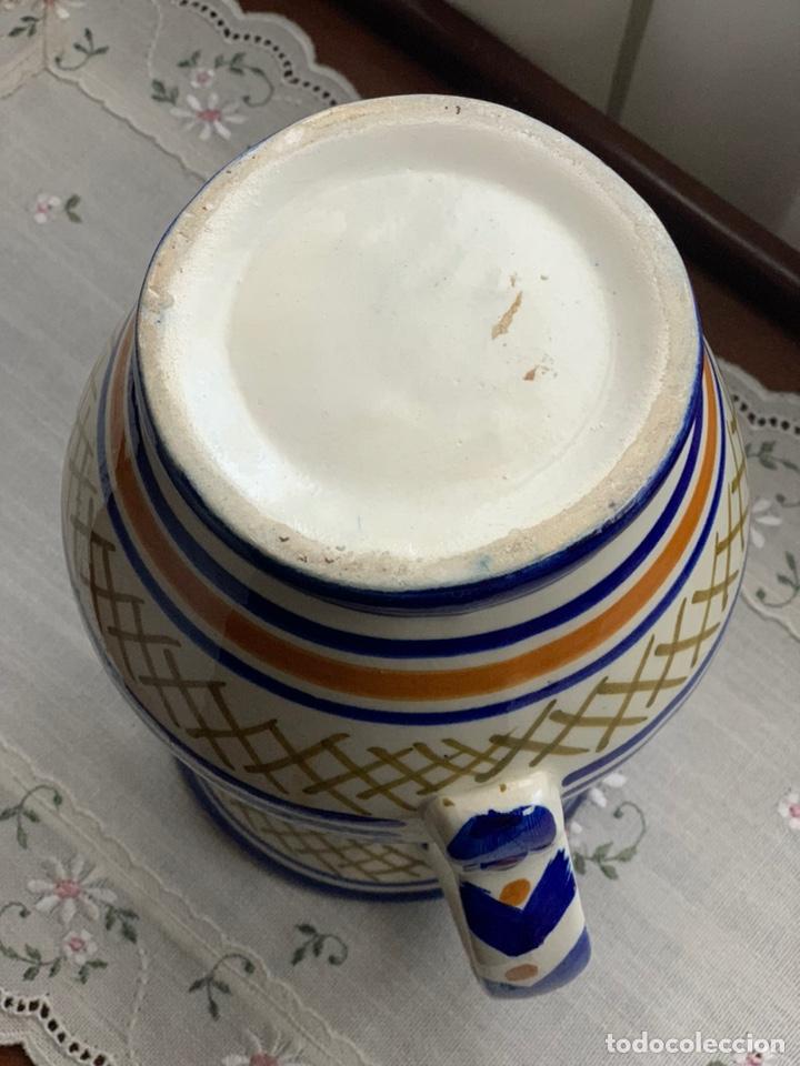 Antigüedades: Jarra cerámica de Manises. - Foto 4 - 194785478