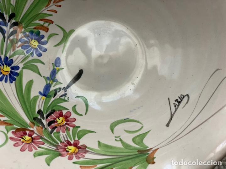 Antigüedades: Frutero de cerámica lorquina de Lario. - Foto 2 - 194785660