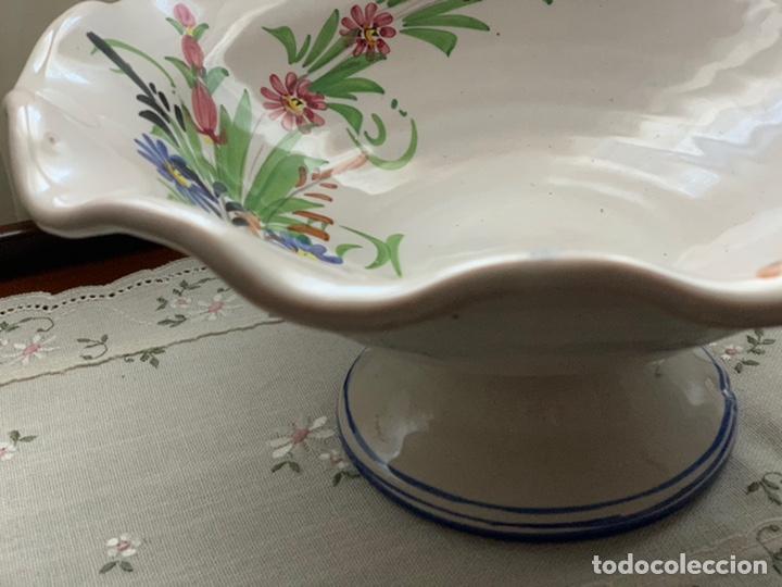 Antigüedades: Frutero de cerámica lorquina de Lario. - Foto 4 - 194785660