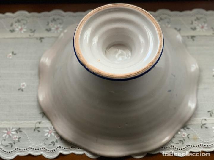 Antigüedades: Frutero de cerámica lorquina de Lario. - Foto 5 - 194785660