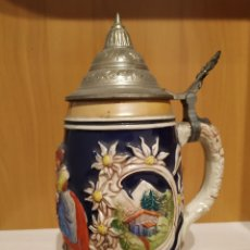 Antigüedades: JARRA CERVEZA ALEMANA. Lote 194786236