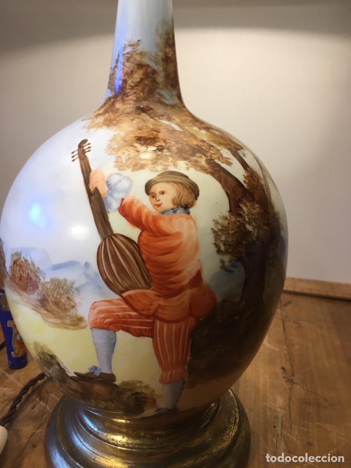 Antigüedades: Lámpara Manises - Foto 2 - 194786957