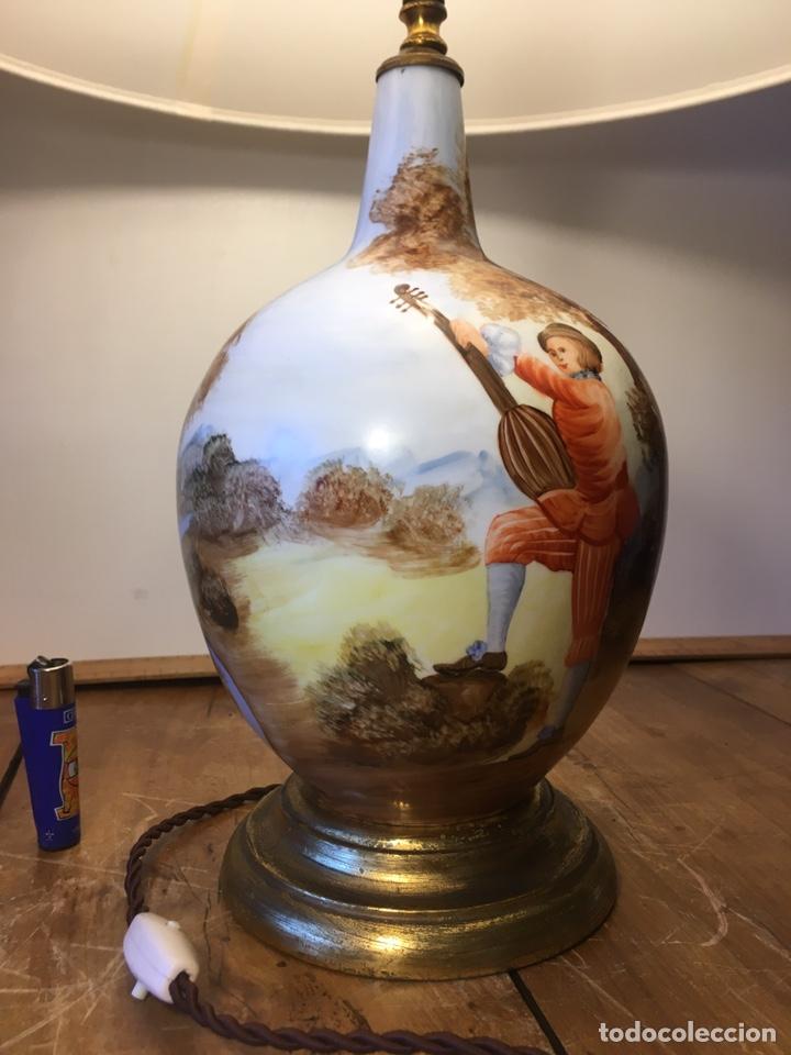 Antigüedades: Lámpara Manises - Foto 4 - 194786957