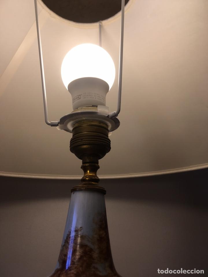 Antigüedades: Lámpara Manises - Foto 11 - 194786957