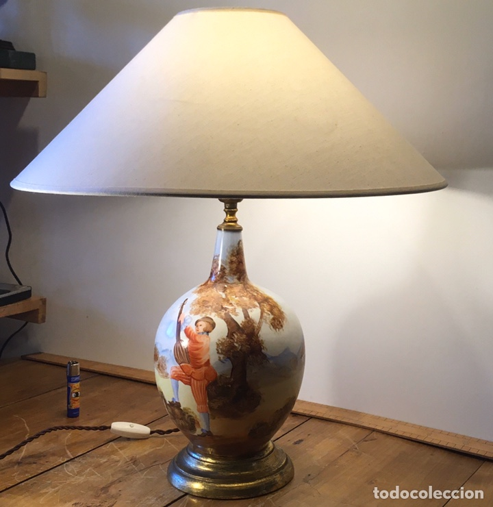 LÁMPARA MANISES (Antigüedades - Iluminación - Lámparas Antiguas)