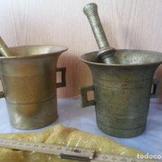Antigüedades: MUY BUENA CALIDAD. FUERTES Y PESADOS. APROXIMADAMENTE DE LOS AÑOS 30. FORMA DE COPA.. Lote 194789055