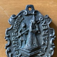 Antigüedades: ANTIGUA MEDALLA NTRO PADRE JESUS NAZARENO ERMITA BURGUILLOS BADAJOZ. Lote 194849241