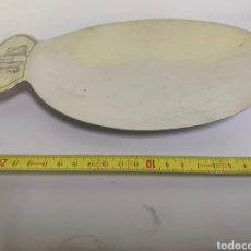 Antigüedades: PATENA EN PLATA DE MENESES. Lote 194862396